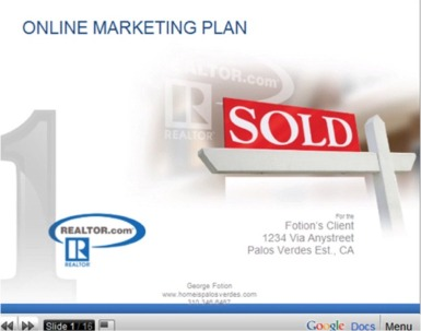 Internet Marketing Strategies Palos Verdes Homes